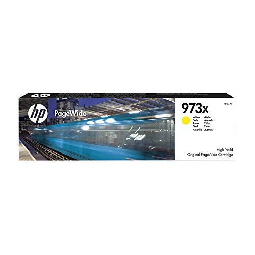 HP 973X Gelb Original Druckerpatrone mit hoher Reichweite für HP PageWide