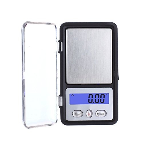 TBBSC Weigh High Precision Mini Digital Jewelry Pocket Scale 200g/0.01g Reloading