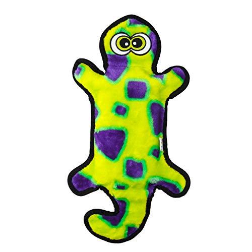 Outward Hound Gecko Stuffingless Tug and Toss Plush Dog Toy