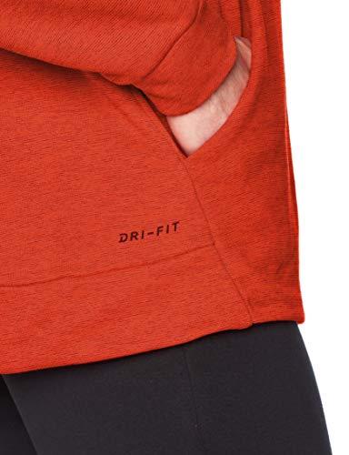 Nike Dry pour Homme, Homme, Sweat-Shirts à Capuche, 885818, Bleu Roi/Blanc., M