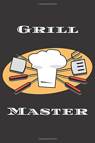 Grill Master composition notebook; 6x9