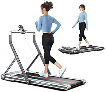 Rhythm Fun Folding Under Desk 2-in-1 Treadmill