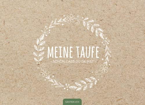 Gästebuch Taufe: Liebevoll gestaltetes Gästebuch für die Taufe   Das Taufbuch ist ein schönes...