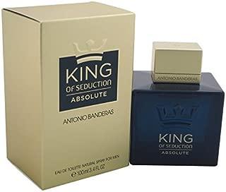 KING OF SEDUCTION ABSOLUTE by Antonio Banderas 3.4 oz / 100 ml Eau de Toieltte (EDT) Men Cologne Spray