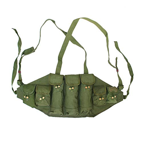 HOME DAILY SALE Original Military Surplus Chinese Type 56 Chest Rig AK 47 Pouch Ammo Mag Bandolier
