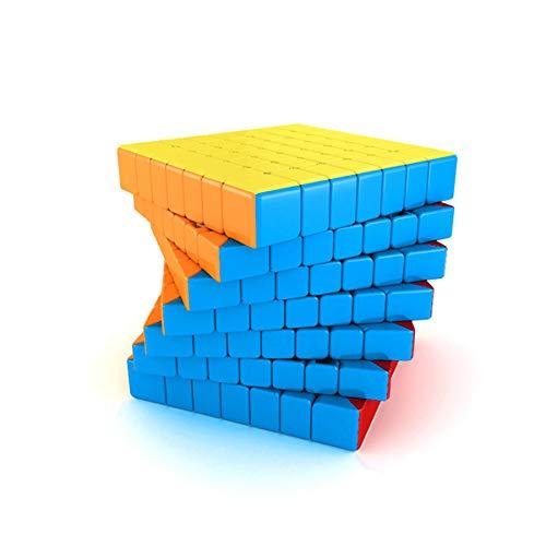 IBAIOU 2x2x2 à 12x12x12 Couleur Stickerless Speed Cube, Ordre supérieur Magic Cube Plus Petit, Jouets Puzzles 3D, des Outils pédagogiques (7x7x7)