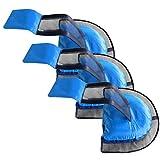 SMILEQ Rampa de Escape de Rescate de Animales de la Piscina 3PC Adecuado para Pato Tortuga Chipmunk (Azul)