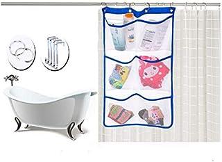i-Sure à suspendre en maille filet Sac de rangement de douche, à suspendre en maille filet Sac de rangement de bain, à séc...