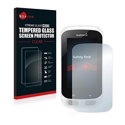 savvies Protector Cristal Templado Compatible con Garmin Edge Explore 1000 Protector Pantalla...