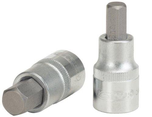 KS Tools 911.1306 - Chiave a bussola esagonale cacciavite maschio da 1/2', 6 mm
