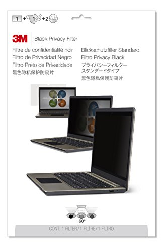 3M Privacy Filter for Notebooks with 35.6 cm (14.0 inch) screens [310 x 175 mm, Aspect Ratio 16:9]