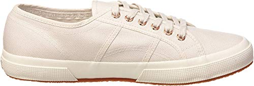 Superga 2750 Cotu Classic, Zapatillas Unisex Adulto, Gris (Lt Grey/Rose Gold F00), 35 EU