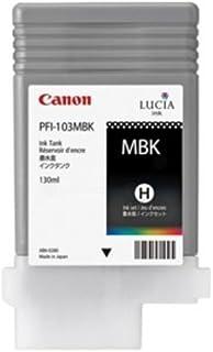Canon Compatible PFI-103MBK Matte Black Large Format Inkjet (130 ML)
