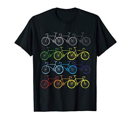 Fahrrad T-Shirt Fahrräder Geschenk Radfahrer Fahrradfahrer