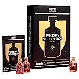 Foodist BEEF! Whisky Adventskalender 2021 - 24 x 50ml Whiskey Minis aus der ganzen Welt als Geschenk und Probier-Set mit Cocktailrezepten, Tasting-Guide für erwachsene Whisky-Fans