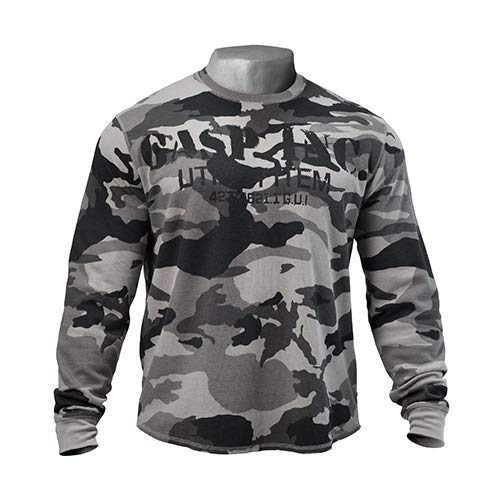 GASP Herren Thermal Gym Sweater, Tactical Camo, XL