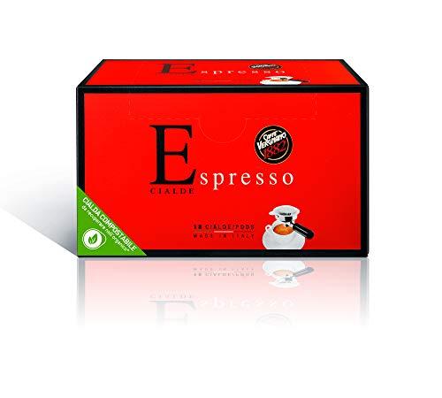 Caffè Vergnano 1882 Cialde Caffè Espresso, 6 confezioni da 18 cialde, filtro in carta (totale 108)