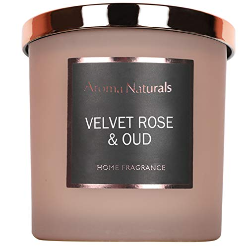 Aroma Naturals - Vela perfumada prémium de Cera Natural de Soja en...
