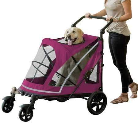 Pet Gear No-Zip Expedition Zipperless Entry Pet Stroller