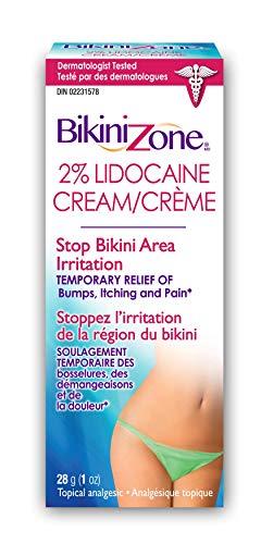 Bikini 1601VCA Zone Medicated Creme for Bikini Area, 1 Oz.