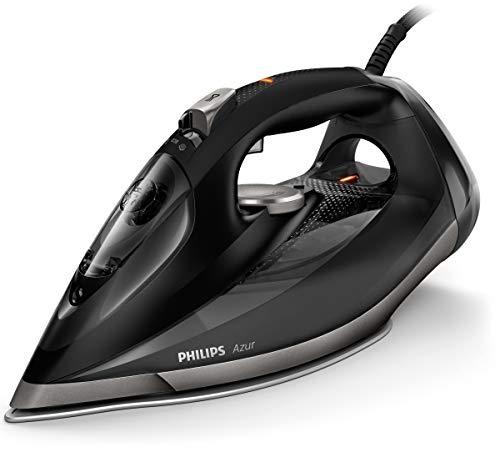 Philips Azur Pro GC4908/80 - Plancha Ropa Vapor, 3000 W, Golpe Vapor 250g, Vapor Continuo 55g, Suela Steam Glide Elite, Antical Integrado, Autoapagado