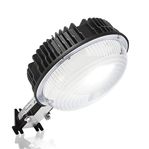 LED Barn Light, 100W Dusk to Dawn Ultra Bright LED Yard Lights Exterior with Photocell, 5000K Daylight 12000LM 600W MH Replacement IP65 Waterproof for Outdoor Wall Mount Security Area Lighting Fixture