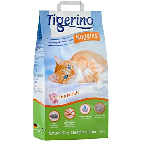 Tigerino Nuggies Frishedult - Lettiera per gatti, 28 l