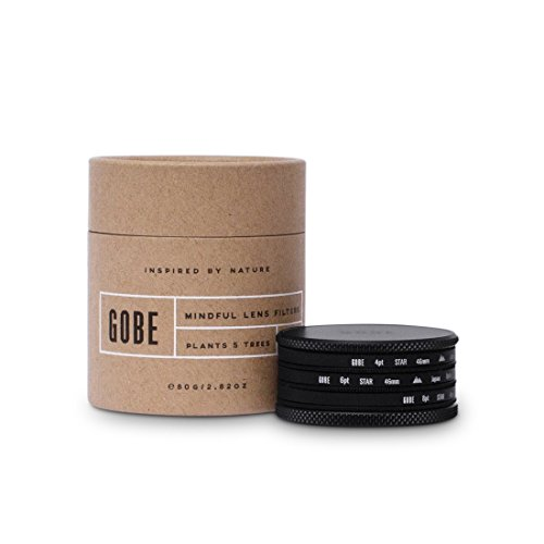 Gobe 46 mm Star Filter Kit: 4 Punkte, 6 Punkte, 8 Punkte (2Peak)