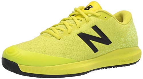 New Balance Men's 996v4 Hard Court Running Shoe, Sulphur Yellow/Lemon Slush, 12 D US