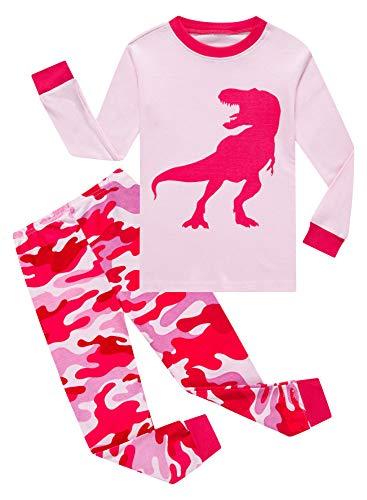 Family Feeling Baby Girls Dinosaur Pajamas 100%...