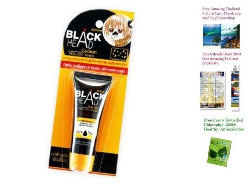 Thailand Mistine Blackhead Black Head Carbon Peel Off Face Mask