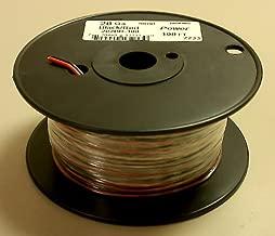 20AWG Red & Black Bonded Copper Speaker Wire 100' Roll