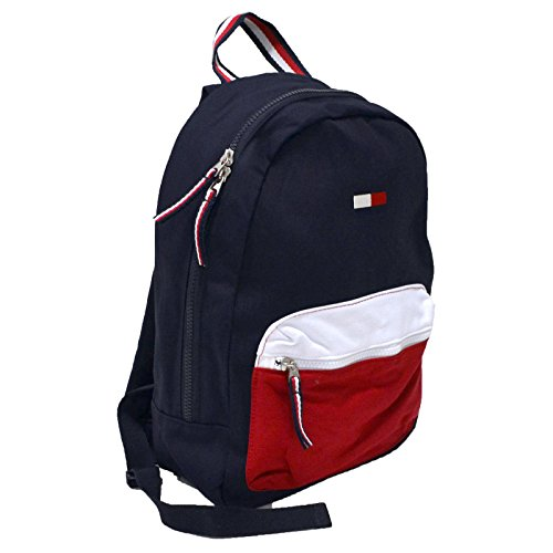 Tommy Hilfiger Rucksack, Canvas Unisex Backpack, Size: 40 x 28 x12cm