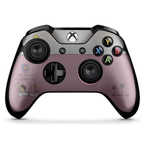Skin kompatibel mit Microsoft Xbox One X Controller Folie Sticker Der kleine Yogi Yoga Motivation