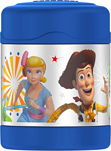 THERMOS FUNTAINER 10 Ounce Stainless Steel Kids Food Jar, Toy Story 4