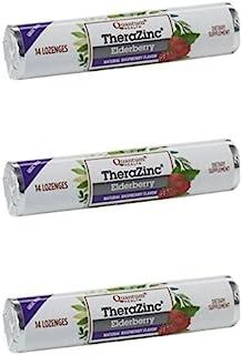 Quantum - Lozenge Zinc Elderberry - 14 Lozenges (Pack of 3)