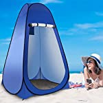 Laelr Pop up Toilet Tent, 4 Pack Shower Privacy Toilet Changing Room Changing Tent Foldable & Portable Beach Dressing… 11