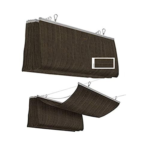 XYUfly20 Marquesina para Sombra De Pasillo Toldo Impermeable Antienvejecimiento Y Larga Durabilidad. Se Utiliza En Patios, Jardines, Estacionamientos, Soláriums, Estantes para Uvas, Terrazas, Etc.