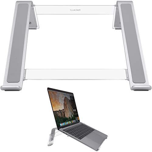 在宅勤務 テレワーク ノートパソコ スタンド 3段階調節 自然空気流動 冷却効果 Apple Mac Book Pro/Air Samsung Chromebook Acerスイッチ HP Pavillion Dell XPS 最大17.3インチまで対応(