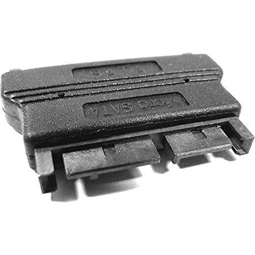 BeMatik - Adaptador MicroSATA 16-Pin a Placa a SATA 22-Pin a Placa