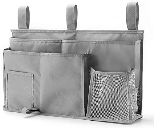 Recet Hanging - Bolsa de almacenamiento para la noche, tela Oxford 600D con cierre de velcro para literas, camas de hospitales, recámaras