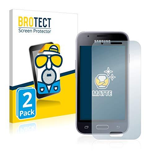 BROTECT 2X Entspiegelungs-Schutzfolie kompatibel mit Samsung Galaxy J1 Mini Prime Displayschutz-Folie Matt, Anti-Reflex, Anti-Fingerprint