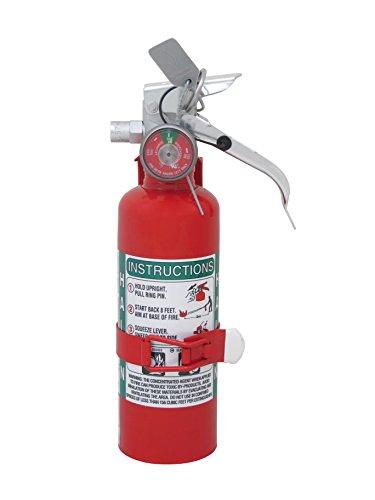Amerex A344T, 1.25lb Halon 1211 Class B C Fire Extinguisher