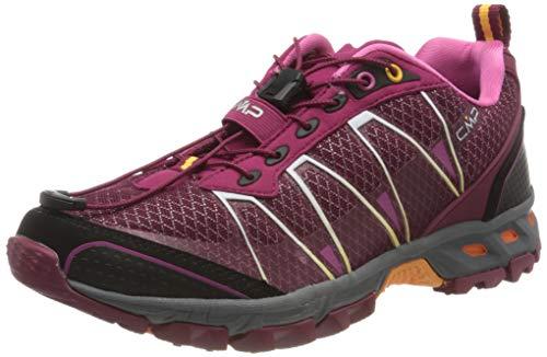 CMP – F.lli Campagnolo Altak Wmn Shoe, Zapatillas de Trail Running Mujer, Rojo Goji Bounganville 12he, 41 EU