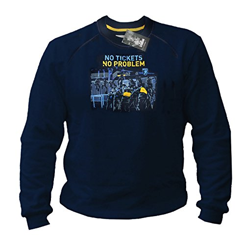 PG Wear No Tickets Football Fanatic Ultras blau Sweatshirt Pullover (3XL)