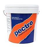 Pintura ANTIMOHO Interior/Exterior blanca de gran cubricion | Pintura plástica lavable antihumedad concebida para combatir la aparición de moho (5 KG)