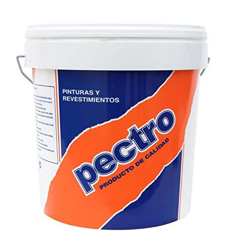 Pintura blanca mate cubriente INTERIOR EXTERIOR 20 KG | Pintura lavable de gran durabilidad y cubricion | Plastica de elegante acabado
