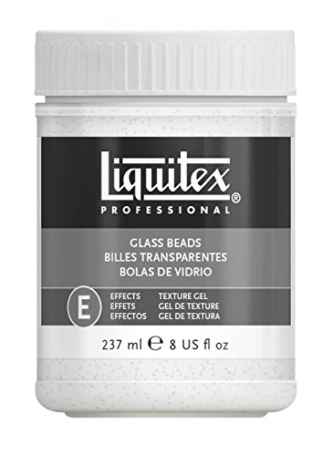 Liquitex Professional Glass Beads Effects Medium, 8-oz