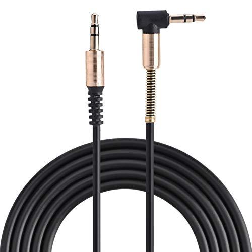 PUSOKEI Basics Cable Auxiliar de Audio estéreo Macho a Macho de 3,5 mm, 3 pies, 1 Metro