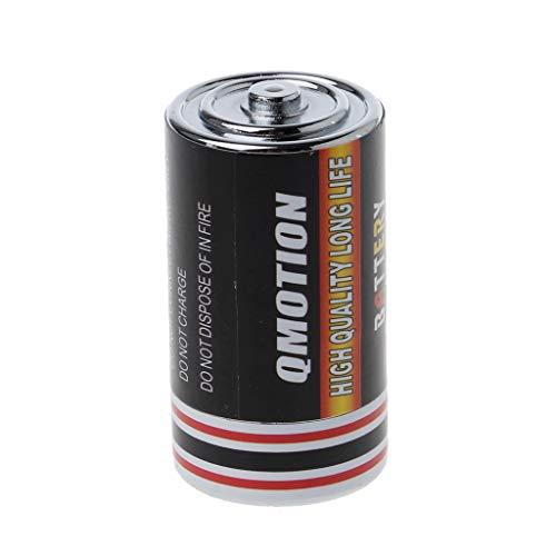 GuanjunLI 1 Stück Batterie Secret Stash Box Diversion Safe Case Wertable Schmuck Box Container